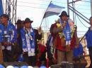 AUTORIDADES SALIENTES Y ELECTAS DE ACHOCALLA FIJAN EL 18 DE MAYO PARA LA TRANSICIÓN MUNICIPAL