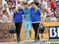 Alves sufre una lesión de ligamentos importante y se perderá la Copa