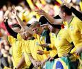 Brasil vs. Paraguay desde las gradas