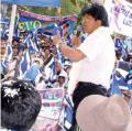 El MAS evalúa que Evo sea reelegido indefinidamente