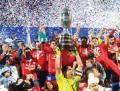 Chile asciende a la octava posici�n