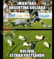 Memes de la derrota de Bolivia frente a Argentina