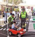 A través de juegos, niños aprenderán educación vial