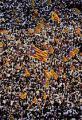 Miles de personas pidieron la independencia