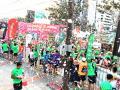 Tarijeños en la gran maratón de santa cruz