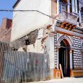 Nueva construcción provoca varias rajaduras en la Casa de la Cultura