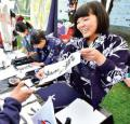 Omatsuri: un evento japon�s que cada a�o se hace m�s pace�o