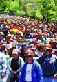 Levantan la prohibición de portar dinamita en marchas