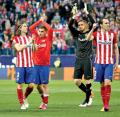 Atlético se despide con honor