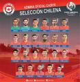 Chile convoca a la base que ganó la Copa América 2015