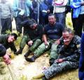 Cooperativistas liberaron a 41 policías tomados como rehenes