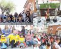Más de 300 niños participaron de la carrera de cochecitos sin motor