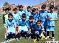 Mina Bolívar goleó a Zanca por el torneo de fútbol Sub-11
