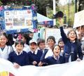 Colegiales lideran marcha contra trata