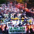 Miles marcharon por la paz en Medellín