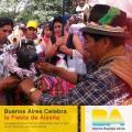 Bolivianos celebran Alasita en Argentina