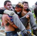 Estalla nuevamente la violencia en marcha opositora en Caracas
