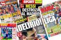 Los medios se rinden ante la exhibición de Leo Messi